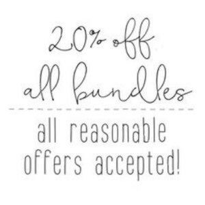 Other - 20% off TWO or more items when you bundle!